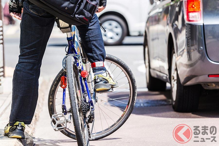 仕事で自転車を使う人の事故が増えている(イメージ)