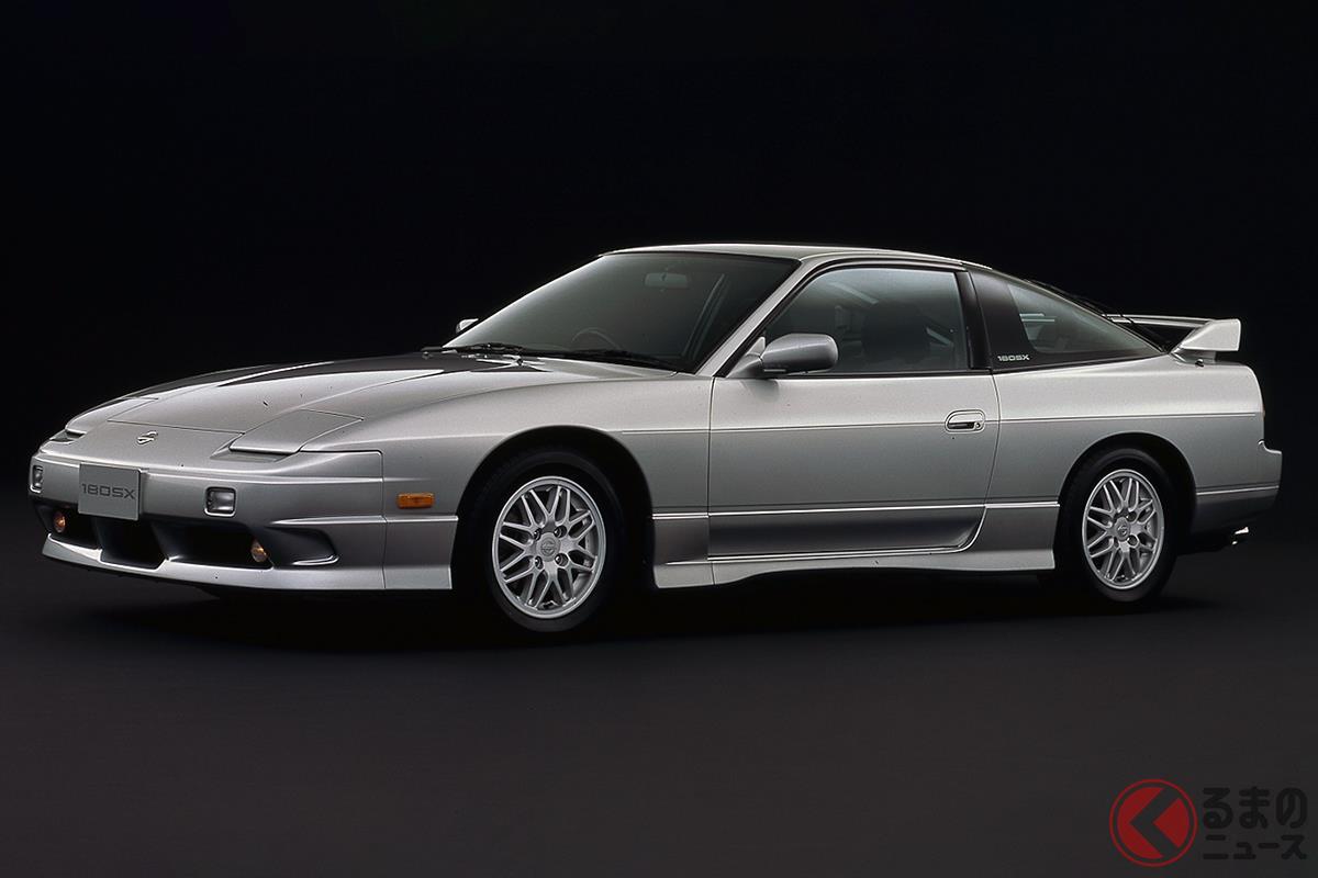 安価なFRスポーツとして絶版になってから人気が再燃した「180SX」