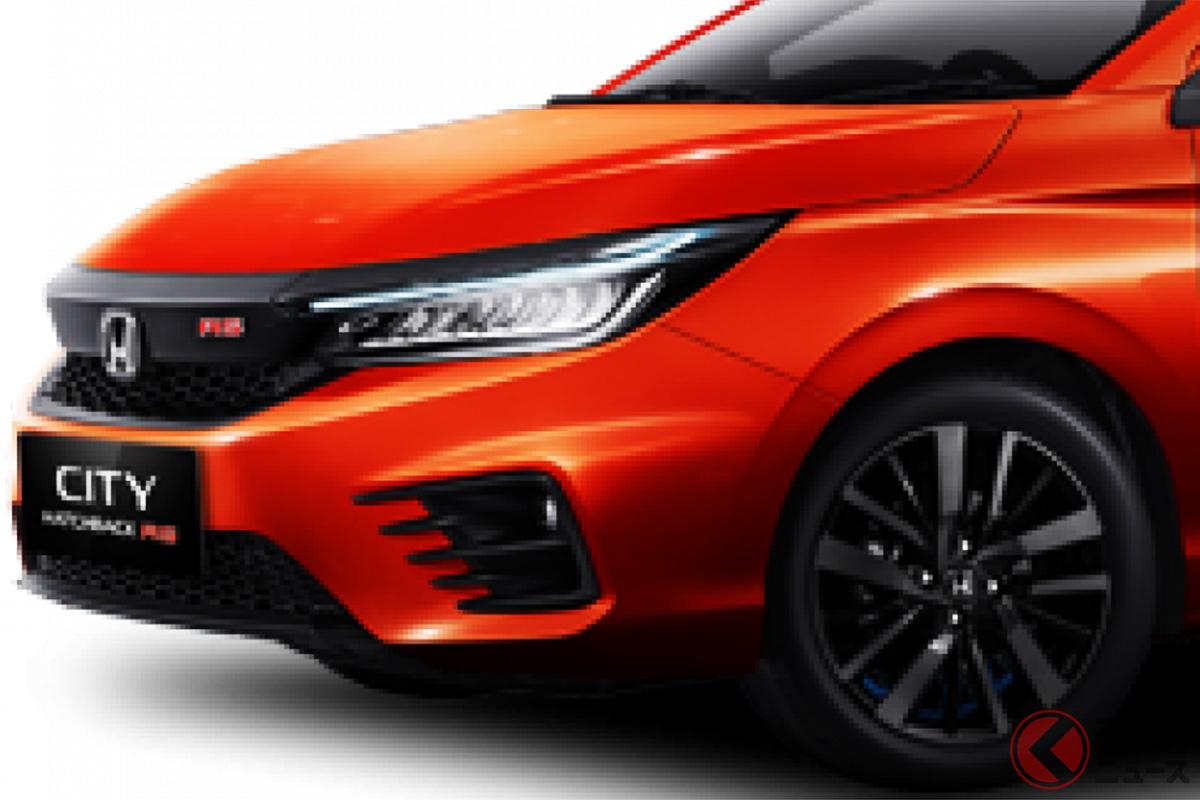 CVTのほかに6速MTが選べるホンダ新型「シティハッチバックRS」(インドネシア仕様)