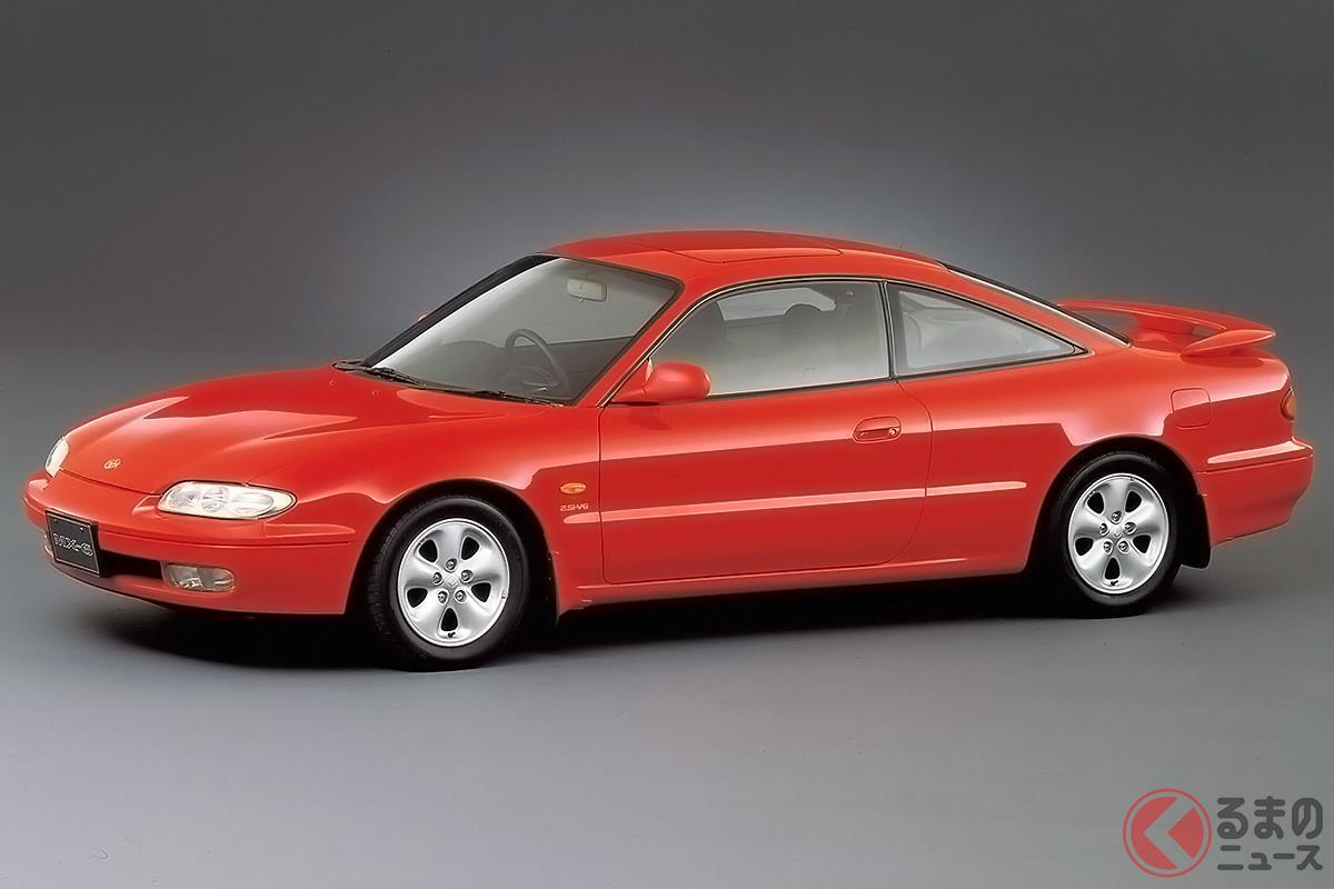 伸びやかでワイドなボディが特徴のスペシャリティカー「MX-6」