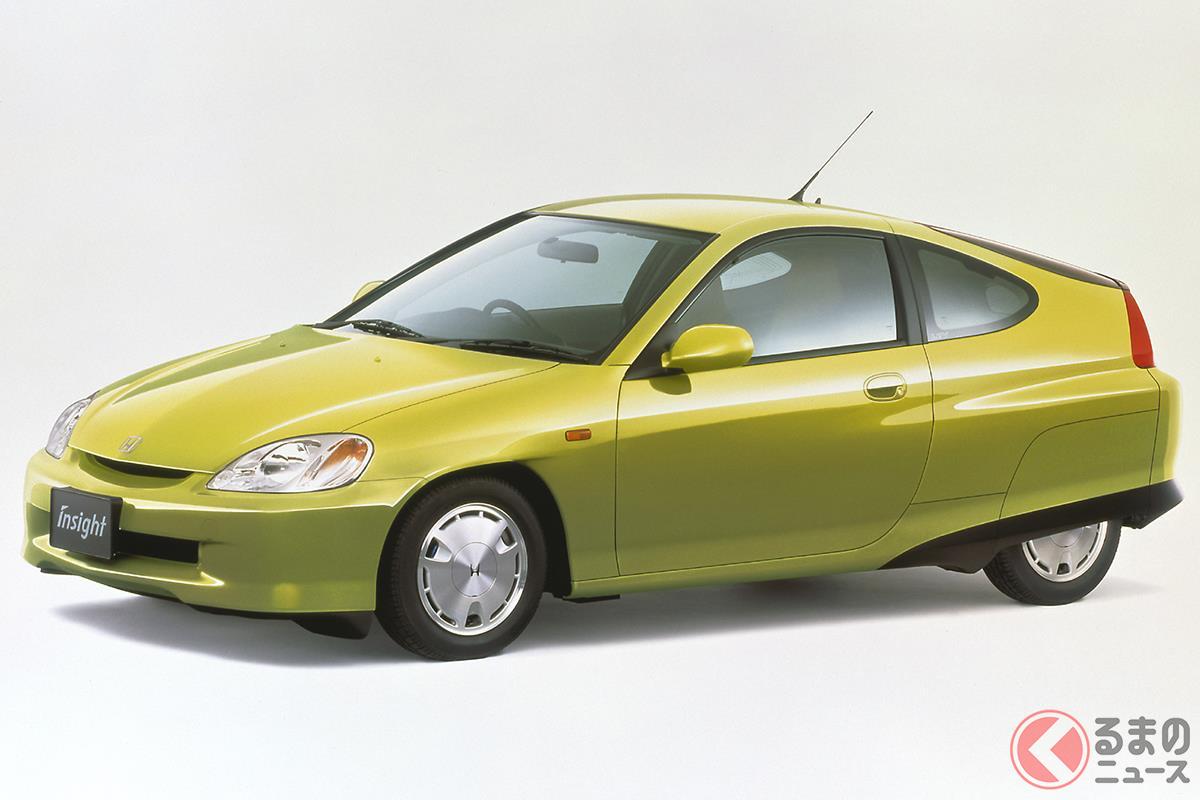 燃費性能向上に特化したストイックなモデルだった初代「インサイト」