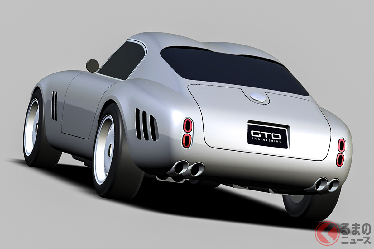 フェラーリ「250GT」のスペースフレームを用いて、現代人のサイズを意識してリデザインされている「V12モダナ」