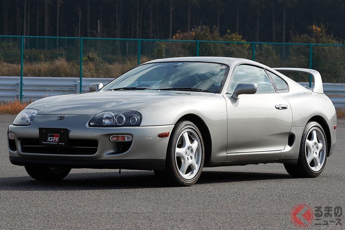 FRのピュアスポーツカーとして人気を博した「A80型 スープラ」