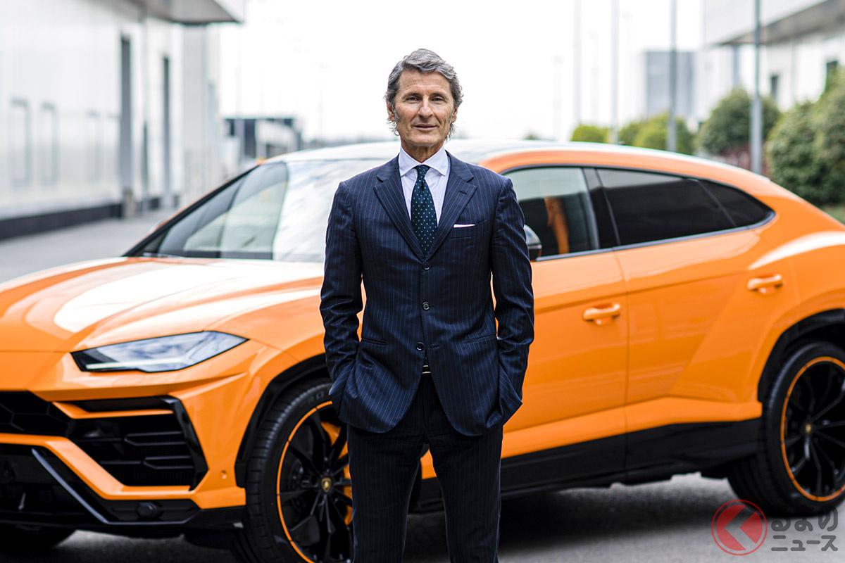 「2021年はとても明るい見通しとともに始まりました」とコメントするアウトモビリ・ランボルギーニ・プレジデント兼CEOであるステファン・ヴィンケルマン