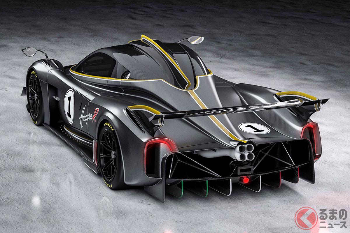 30台限定でほぼ完売しているパガーニの究極のサーキット専用モデル「ウアイラR」