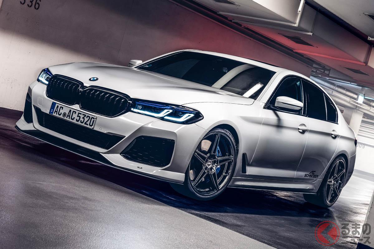 BMWチューナーの雄、ACシュニッツァーがリリースした最新の5シリーズ用フルエアロ