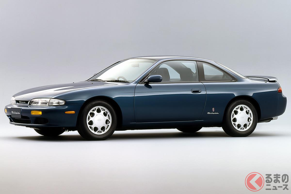 バブル崩壊だけでなく大型化もネガティブな要素だった「S14型 シルビア」