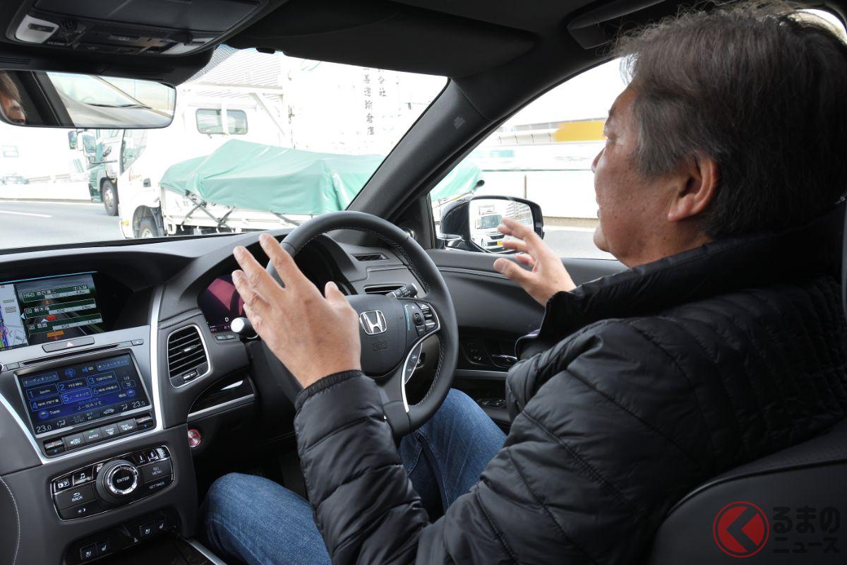 世界初の自動運転レベル3モデルとなる新型「レジェンド」。レベル2と3では何が違うのか