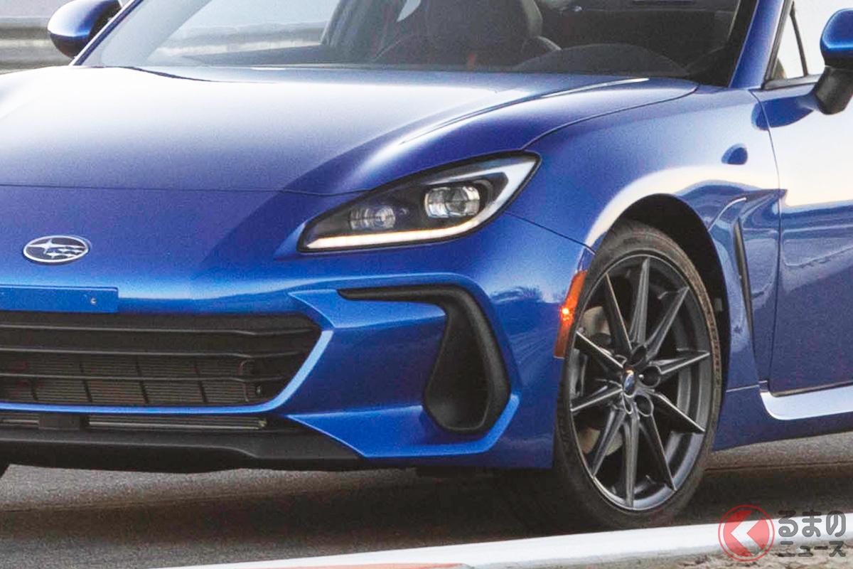 トヨタとスバルは2021年4月5日にどんな新型車を発表するのか?(画像は2020年11月18日に公開された北米仕様のスバル新型「BRZ」)