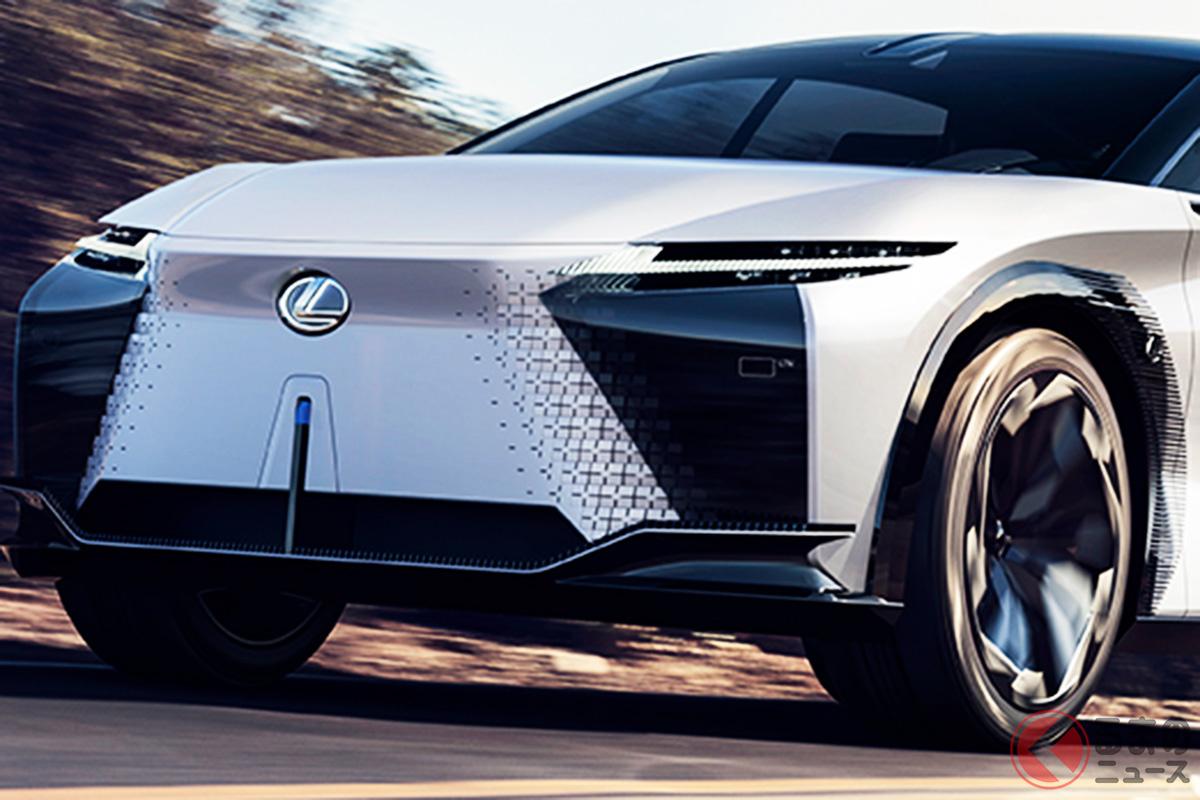 レクサスが公開したコンセプトカー「LF-Zエレクトリファイド」