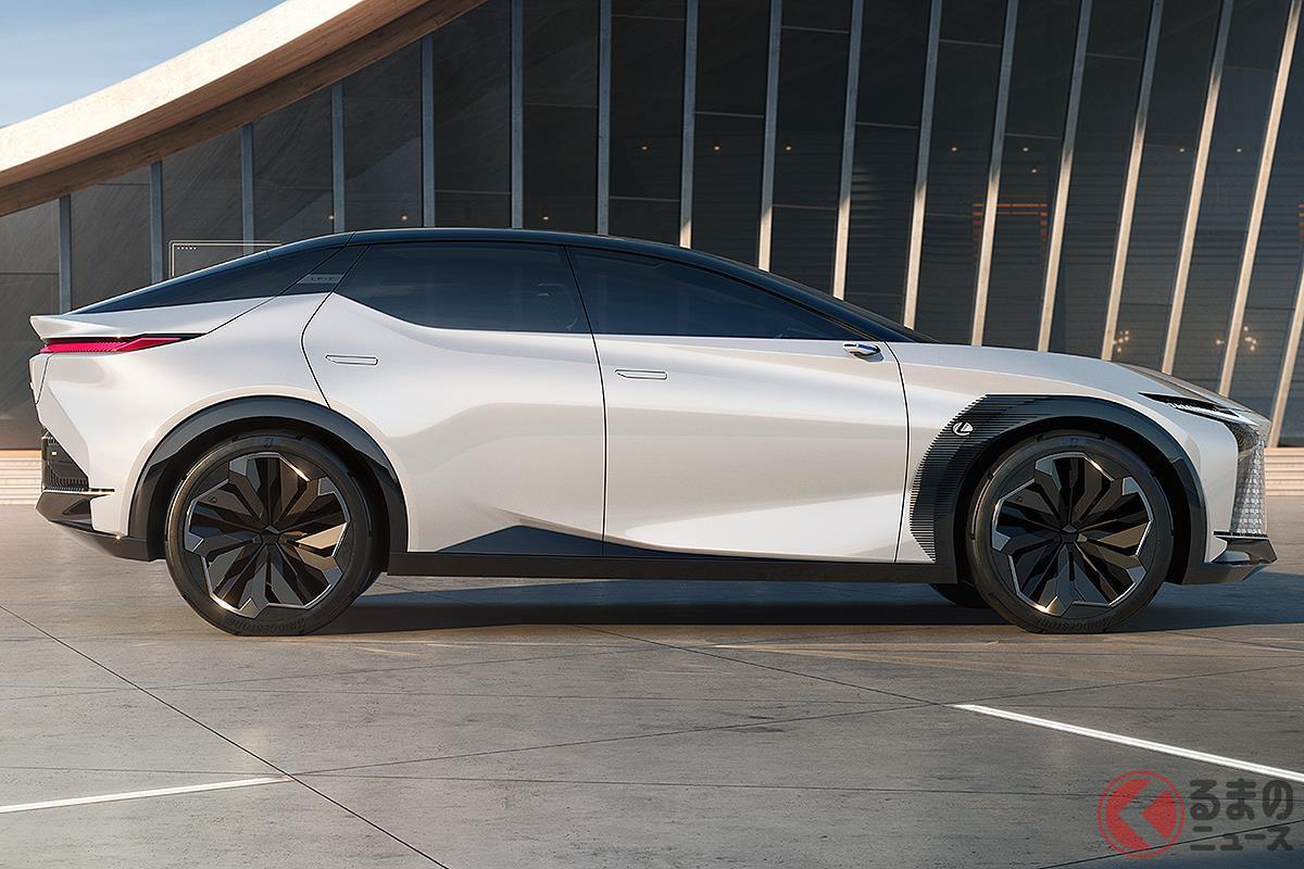 レクサスの新しいデザインコンセプトを体現した「LF-Z エレクトリファイド」