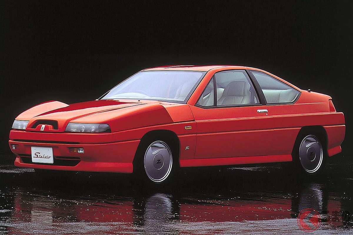 まさにバブル景気が誕生させた超高級車の「ステルビオ」