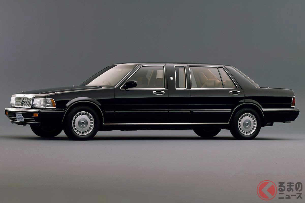 旧車人気から現在もマイカーとして乗っている人もいる「セドリック ロイヤルリムジン」
