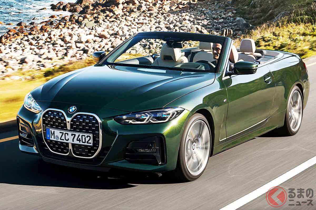 BMW新型「4シリーズカブリオレ」の走り