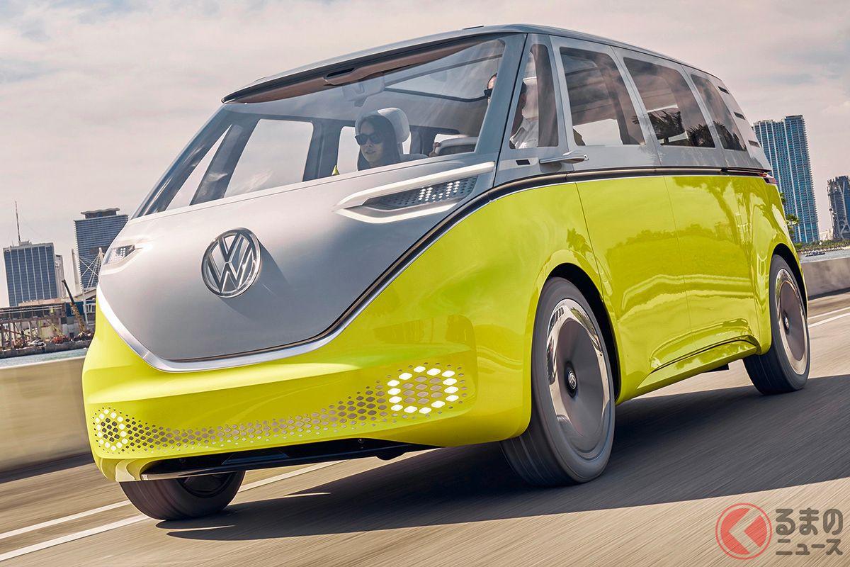 VW「ID.BUZZ」コンセプトの走り