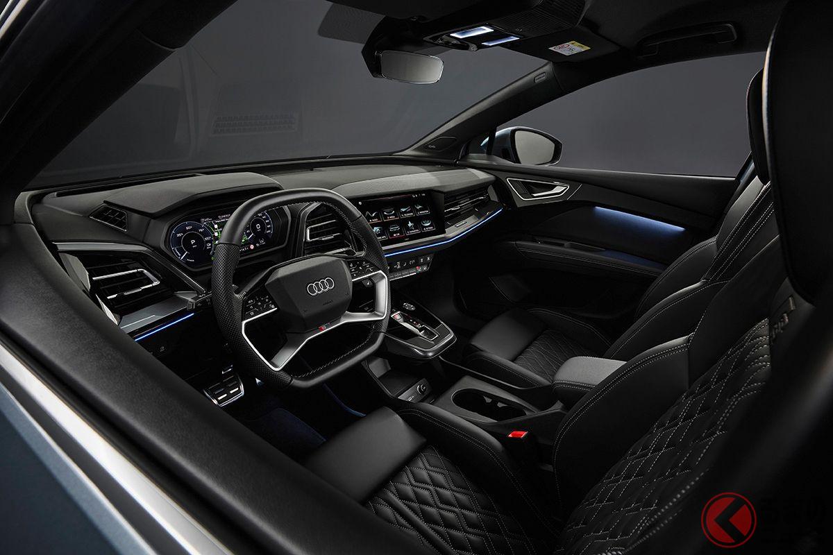 アウディの新型EV「Q4 e-tron」のインテリア