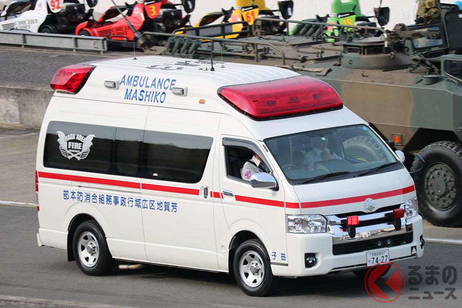 365日24時間活躍する救急車