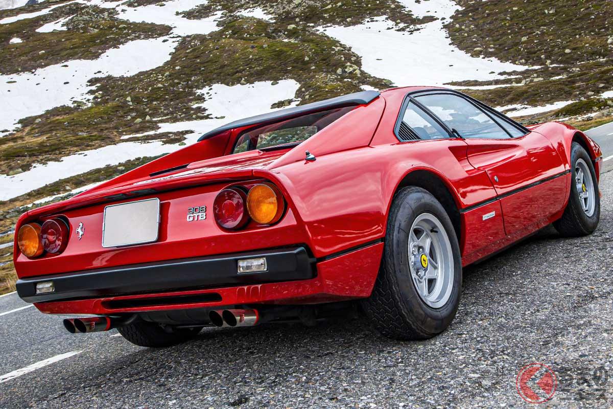 フェラーリ「308GTB」は、スティール製よりもFRP製のボディ方が高値で取引されている(C)2021 Courtesy of RM Sotheby's