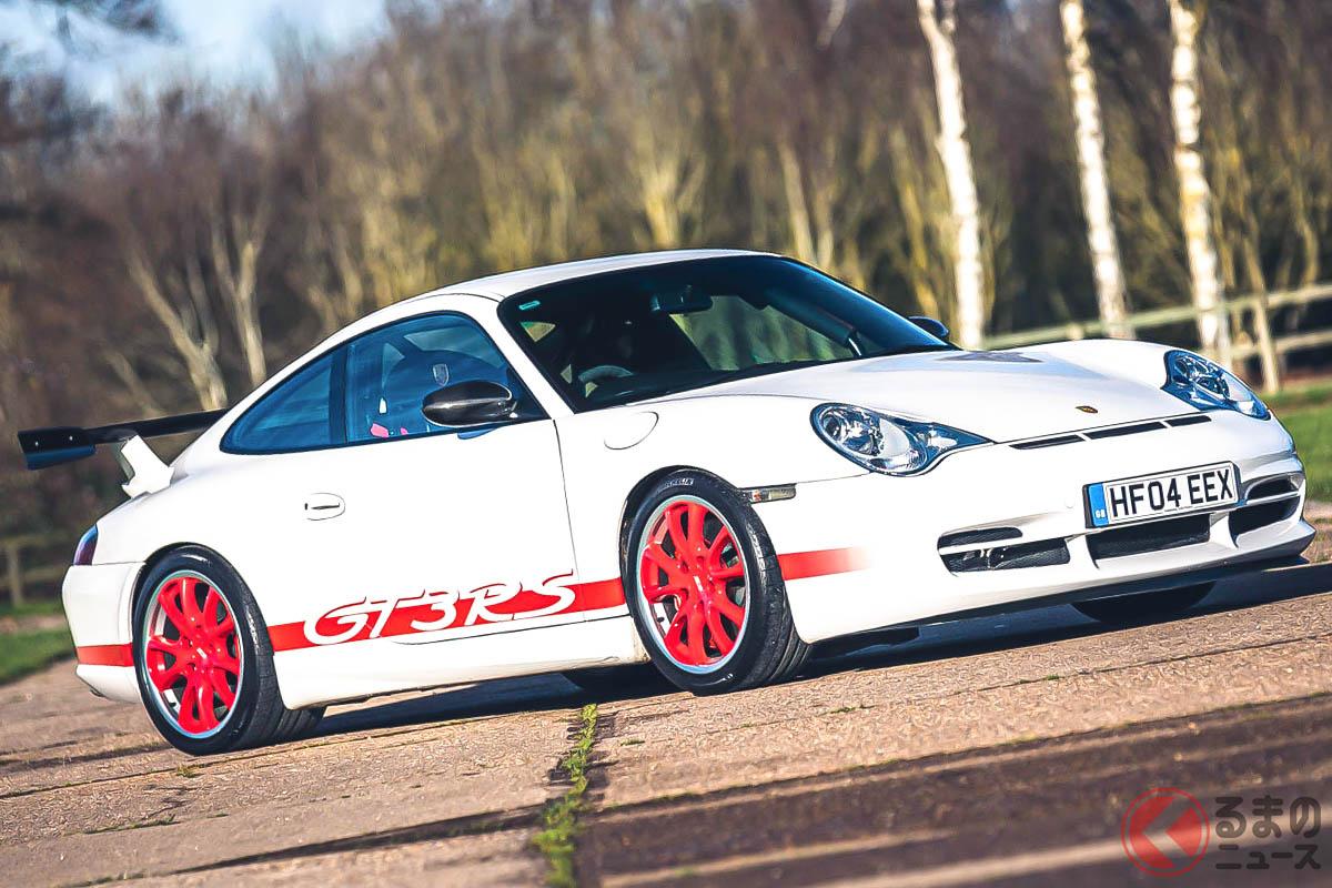 ポルシェ「911 GT3」の右ハンドル仕様は、記録によれば140台しか生産されていない(C)Silverstone Auctions Limited 2021