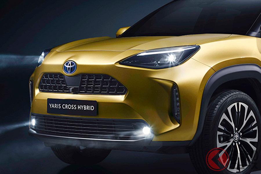 発売間近!? ヤリスと同じプラットフォームを採用した新型SUV「ヤリスクロス」