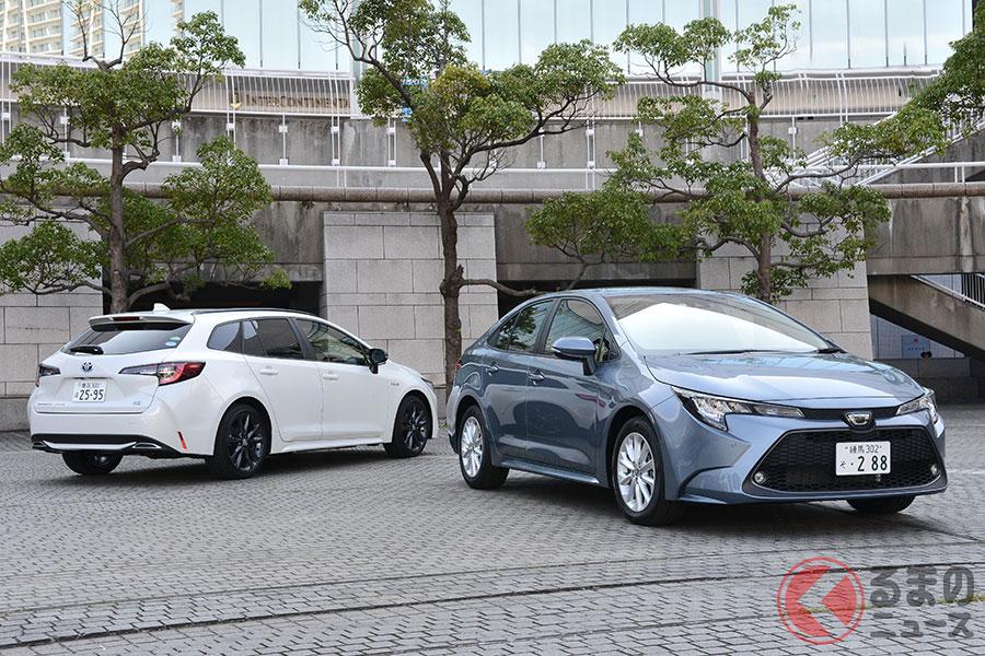 スポーティなデザインに刷新したトヨタ新型「カローラ」