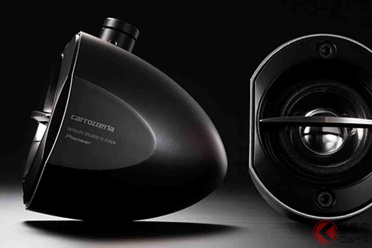 カロッツェリア サテライトスピーカーのブラックモデル「TS-STX510-B」