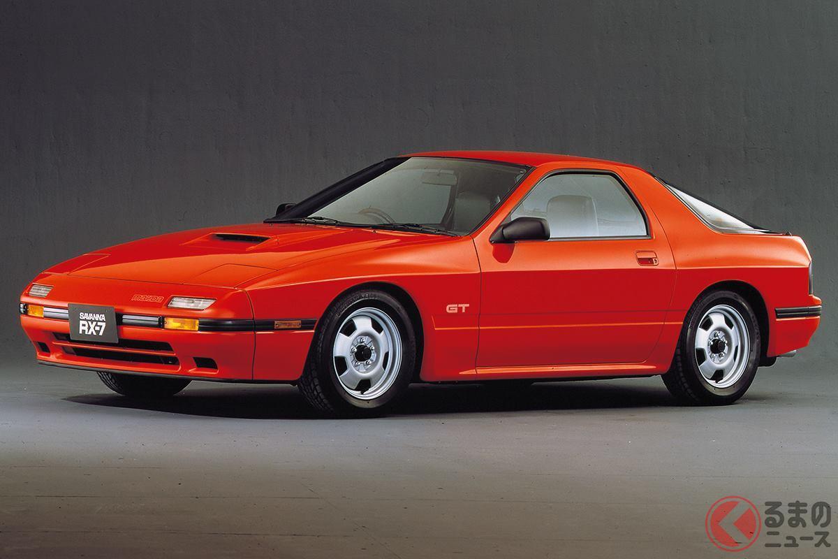 スポーツカーとしてのポテンシャルが大幅に向上した2代目「サバンナRX-7」