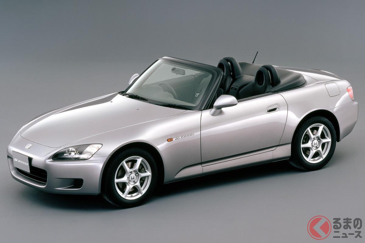 高回転・高出力なNAエンジンを搭載したメモリアルモデルの「S2000」