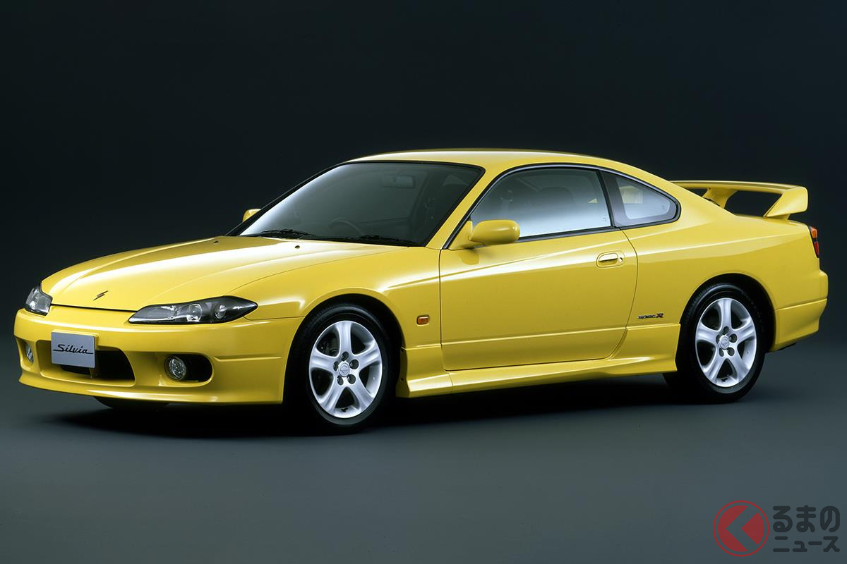 いまでも中古車市場で人気の高い日産「シルビア」