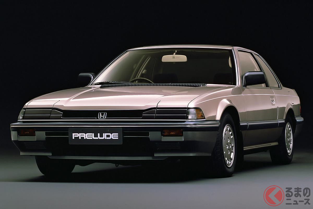 スタイリッシュなデザインと優れた走りが好評だった2代目「プレリュード」