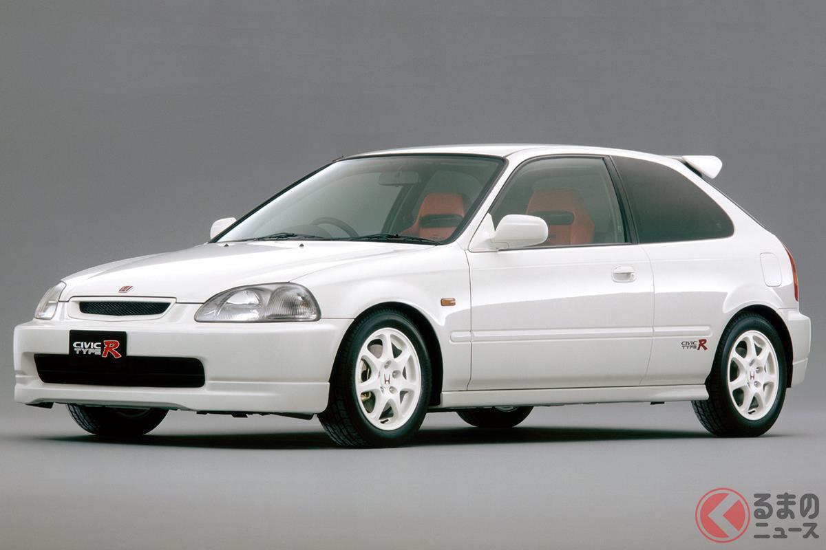 ホンダイズムあふれるFFスポーツカーである初代「シビック タイプR」