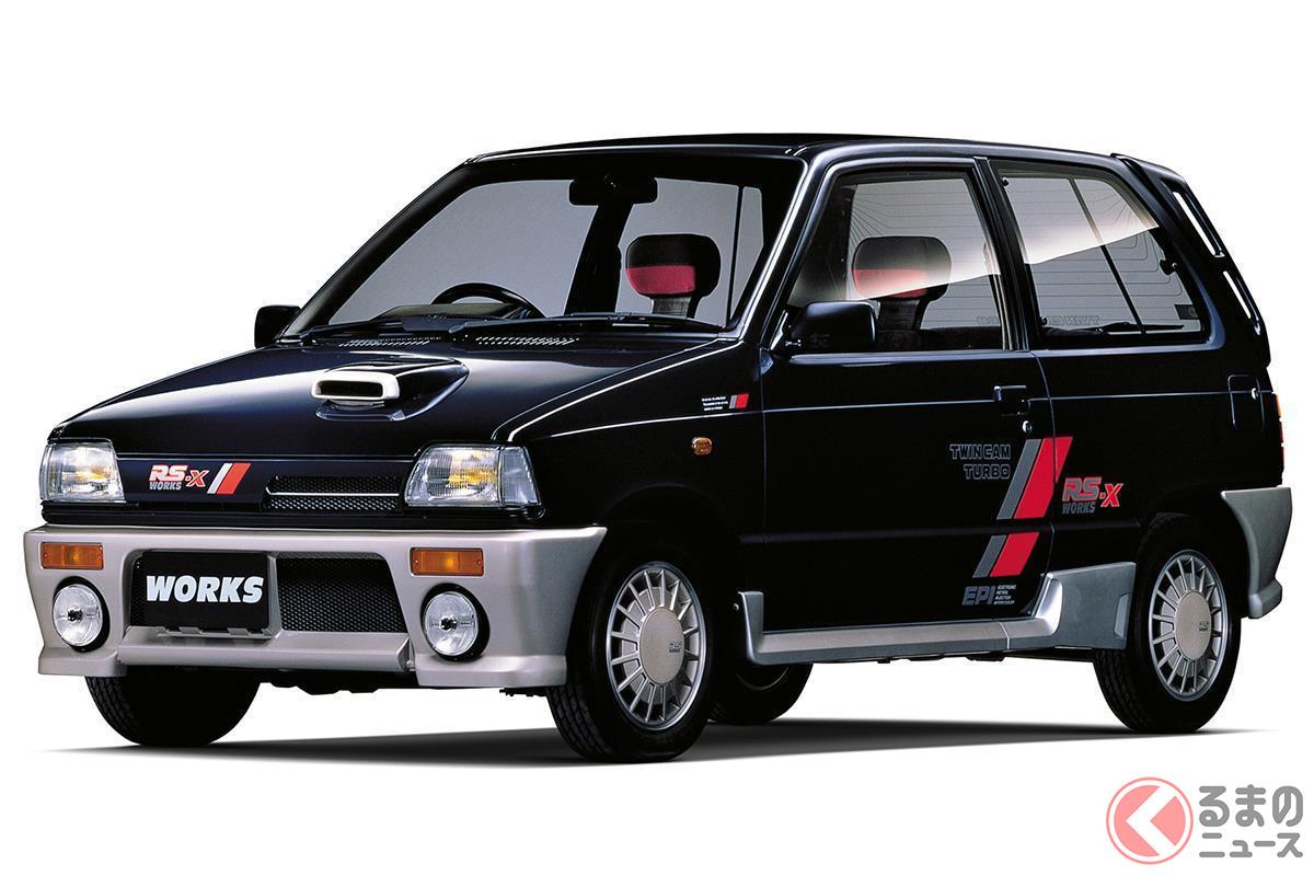 高性能軽自動車のなかでも究極の進化系といえる初代「アルトワークス」