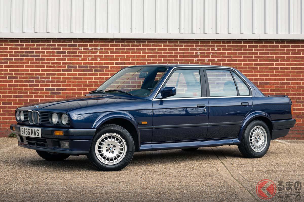 BMW初となる4WDモデルBMW「325iX」(C)2021 Courtesy of RM Sotheby's
