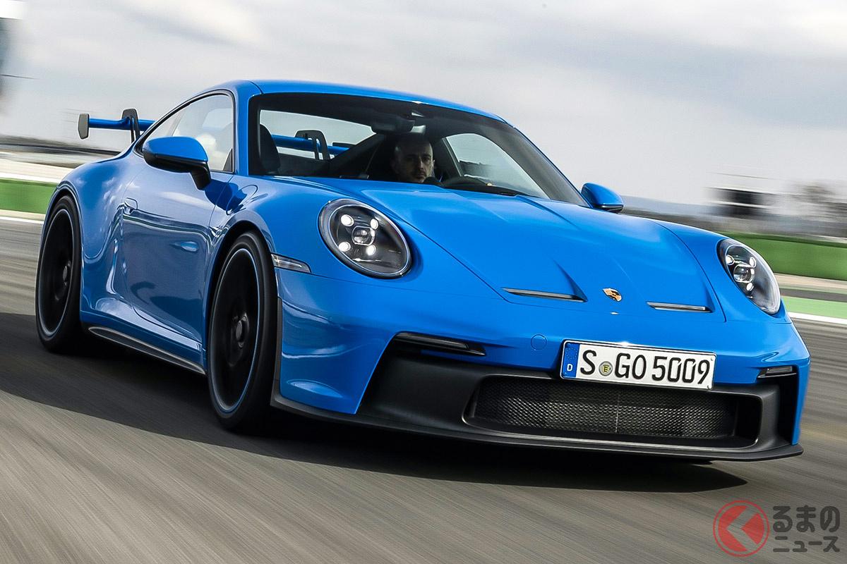大きく見れば第4世代、マイナーチェンジを含め細かく進化の過程を振り返れば第7世代に相当する新型「911 GT3」