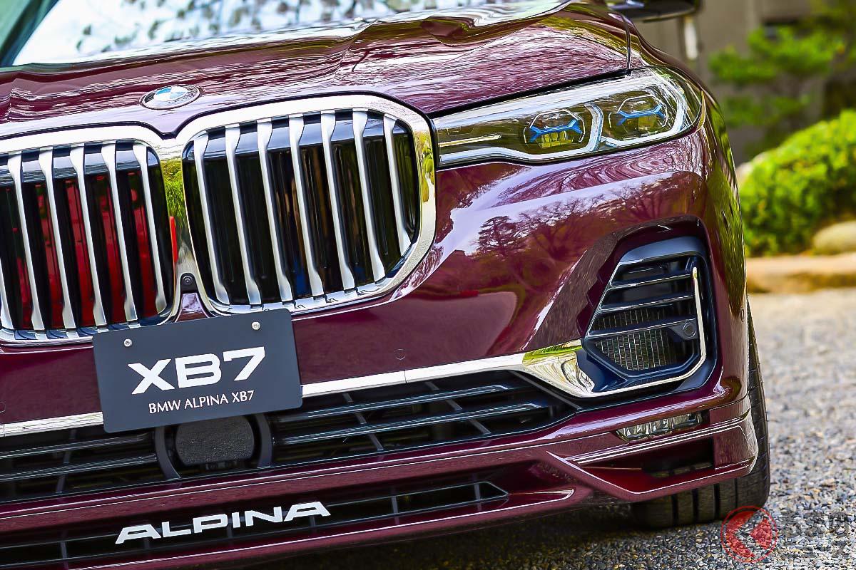 アルピナ「XB7」の日本仕様は右ハンドルのみとなり、車両価格(消費税込)は2498万円