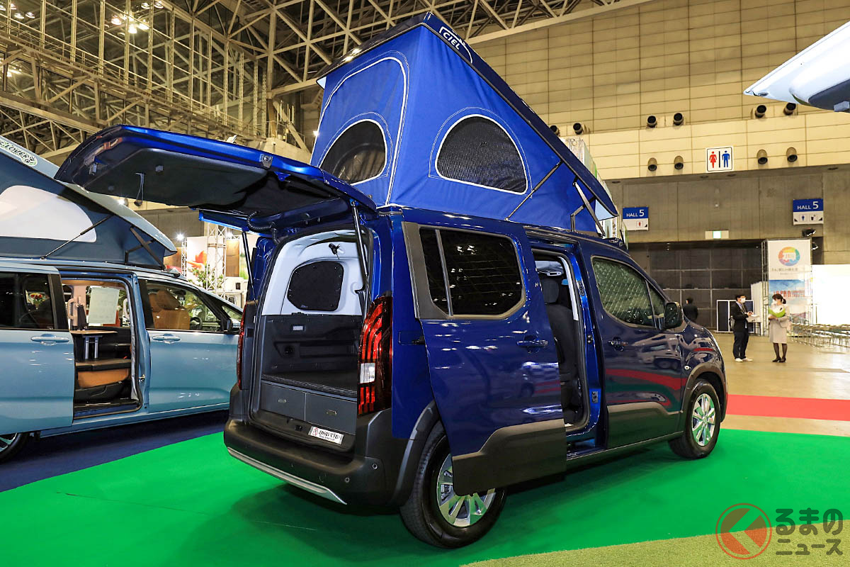 他人とは違う愛車でオートキャンプを満喫したい人にはもってこいのフレンチ・ミニバンをベースとしたキャンパー