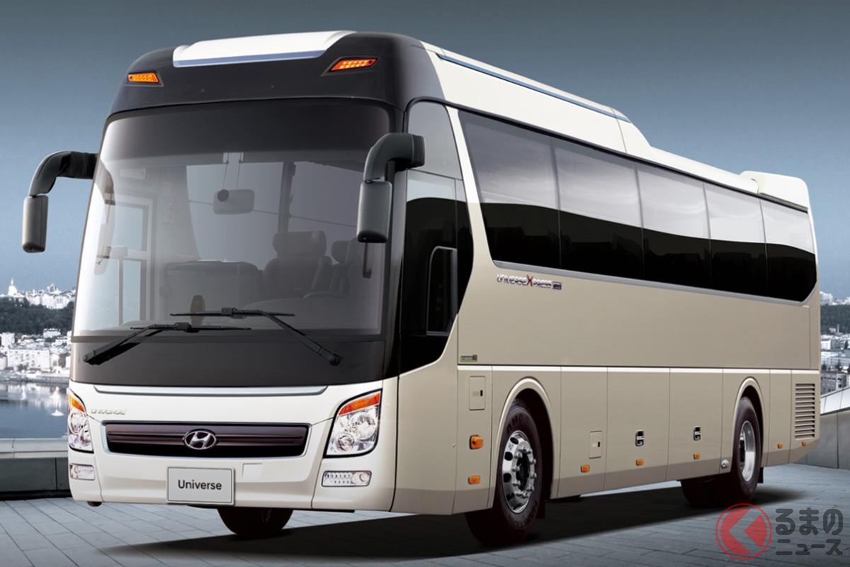 ヒュンダイの大型バス「ユニバース」(海外仕様、画像はヒュンダイ トラック&バス グローバルサイトより)
