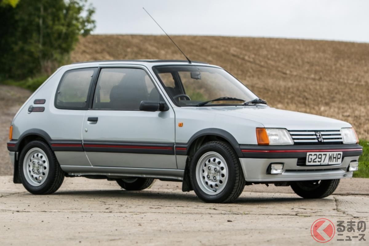 フランス車の魅力を広めたと言っても過言ではない「205 GTI」