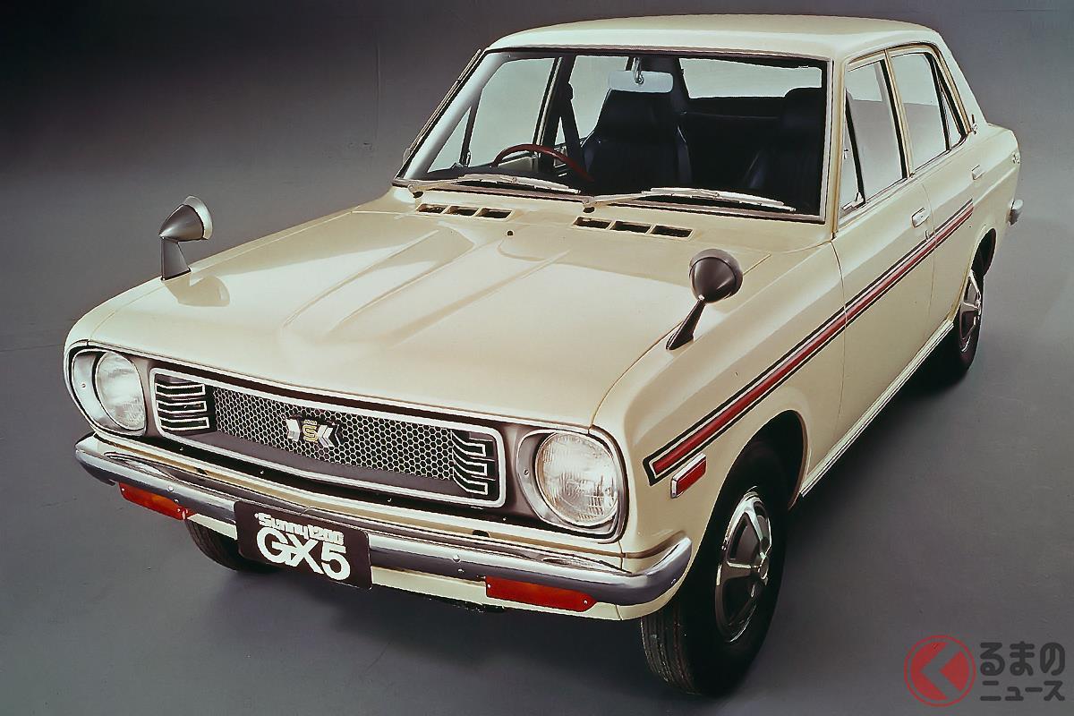 大衆車ながらチューンされたエンジンに5速MTを搭載する「サニー 1200GX5」