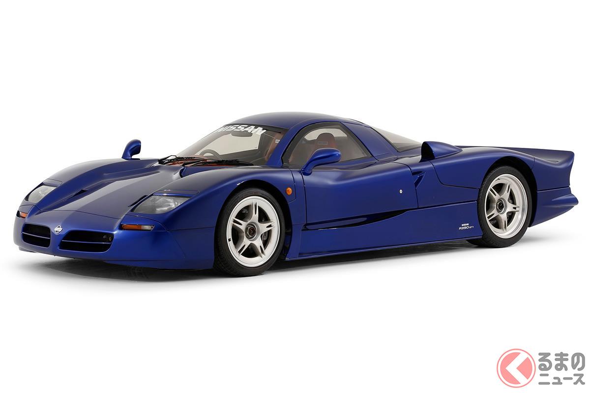 まさに公道を走るレーシングカーだった「R390 GT1 ロードカー」