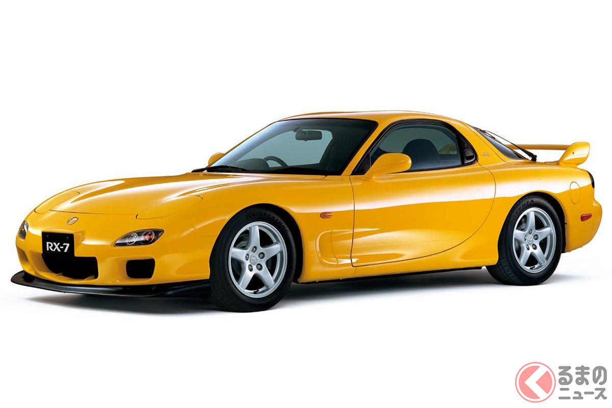 ハイパワーなロータリーエンジンを搭載したピュアスポーツカー「FD3S型 RX-7」