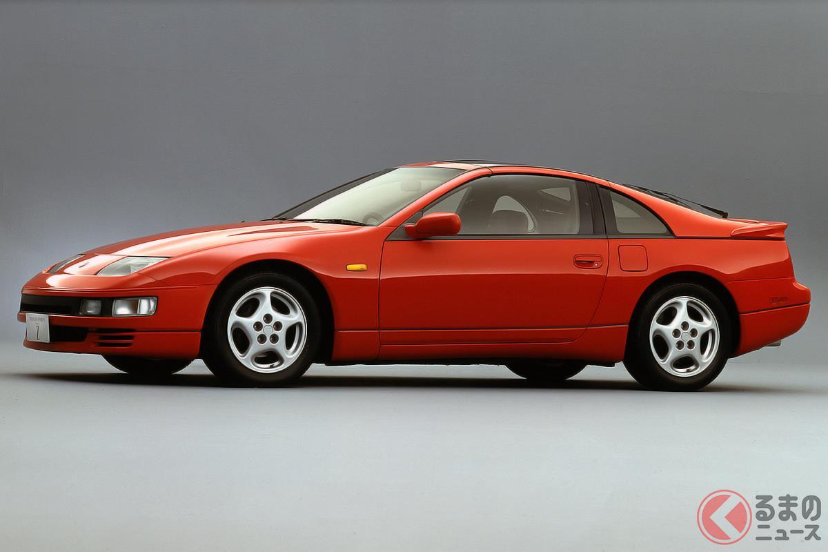 走りだけでなく美しいデザインも高く評価された「Z32型 フェアレディZ」