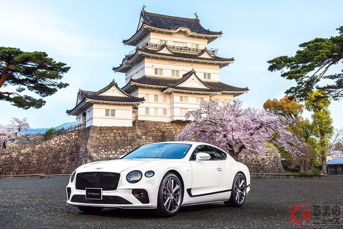 日本市場に向けた10台限定のベントレー「コンチネンタルGT V8エクイノックス・エディション」