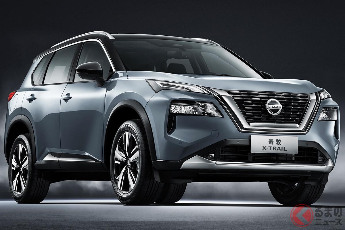 上海モーターショー2021でお披露目された新型「エクストレイル」にはe-POWERは採用されていない