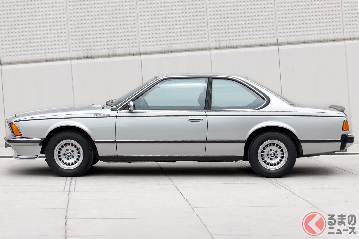 今でも「世界一美しいクーペ」と評されている「E24型 6シリーズ」