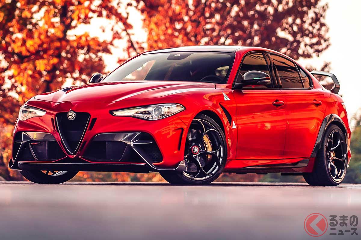 2021年4月26日から5月9日の期間限定で確定注文の受付をスタートしたアルファ ロメオ「ジュリアGTA/GTAm」