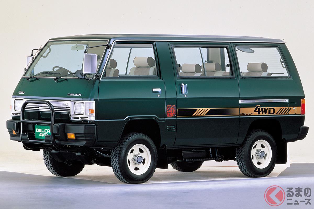 ミニバンながら本格的なクロカン車という新ジャンルを確立した初代「デリカ スターワゴン4WD」