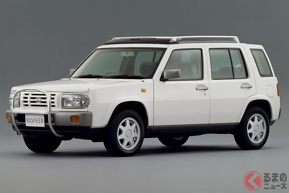 SUV人気からデザインが再評価されたクロスオーバーの先駆け「ラシーン」