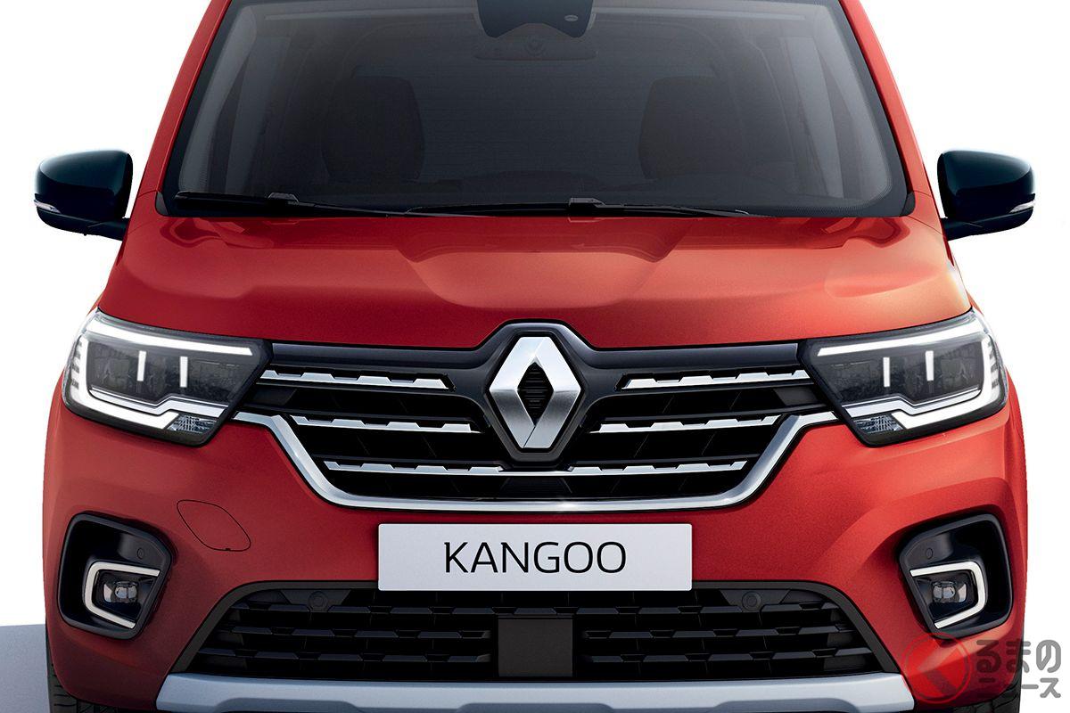 ルノー新型「カングー」。3月30日に乗用車バージョンが世界初公開された