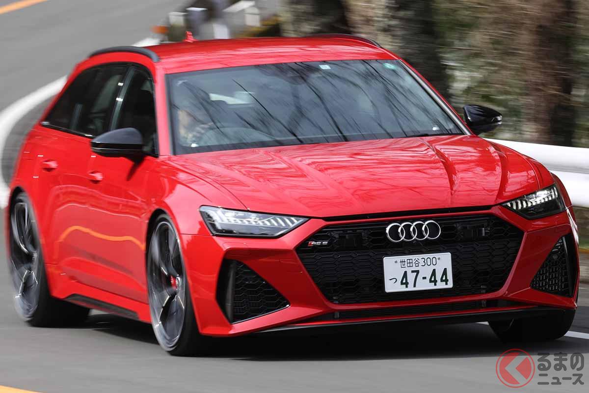 アウディ改良新型「RS6アバント」の走り